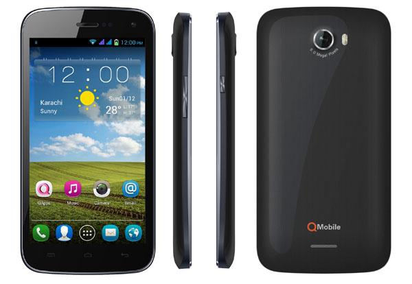 qmobile a300 flash file