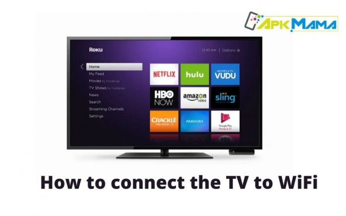 How to connect the TV to WiFi