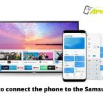 How to connect the phone to the Samsung TV