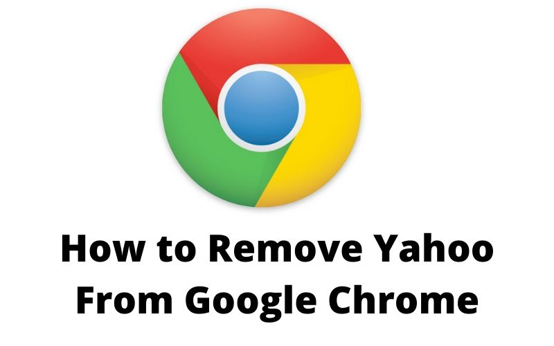 how to remove yahoo from google chrome