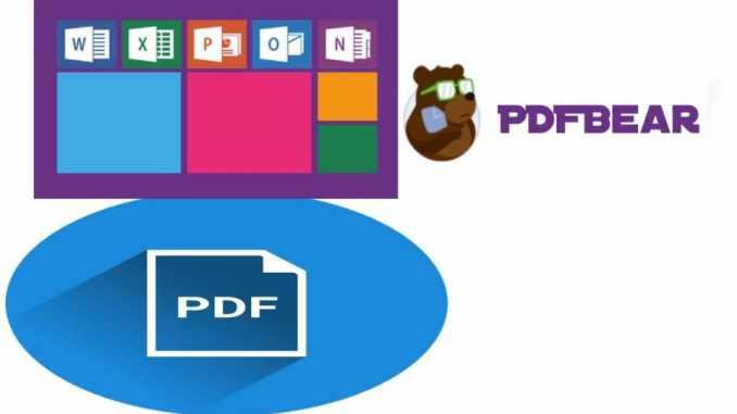 PDFBear's Online Tool